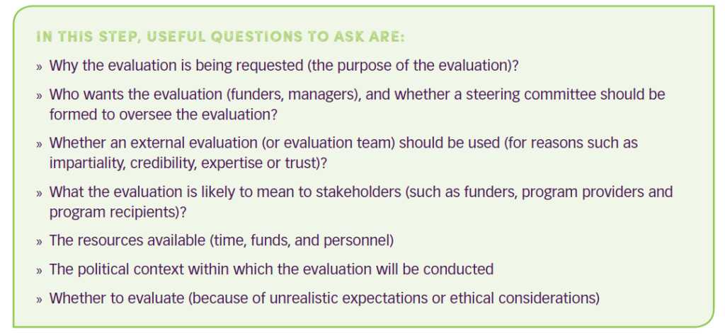 Useful questions to ask